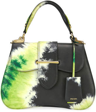 Prada Tie-Dye Sidonie Top-Handle Tote Bag