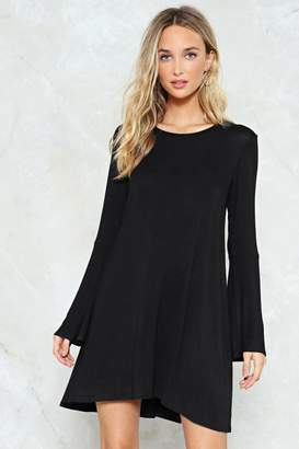 Nasty Gal Not a Flare in the World Mini Dress