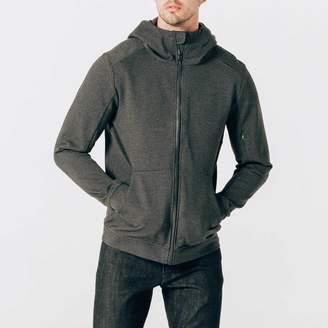 DSTLD Mens Travel Hoodie in Grey