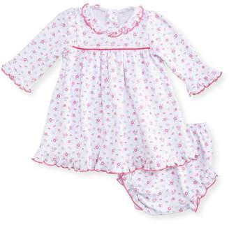 Kissy Kissy Autumn Breeze Pima Dress w/ Bloomers, Size 3-24 Months