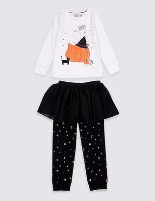 Marks and Spencer Pumpkin Tutu Pyjamas (1-7 Years)
