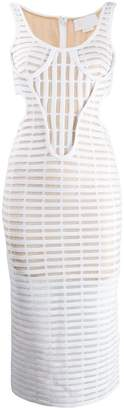 Genny structured caged dress