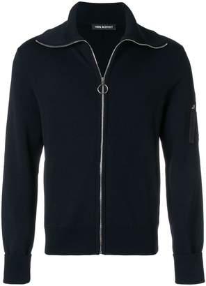 Neil Barrett zipped sweatshirt