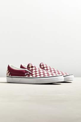 Vans Classic Colorful Checkerboard Slip-On Sneaker