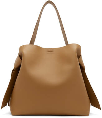 Acne Studios Brown Maxi Musubi Bag