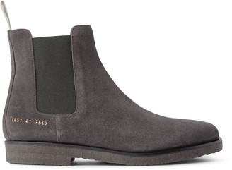 Suede Chelsea Boots $515 thestylecure.com