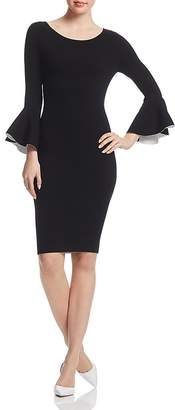Milly Bell-Sleeve Dress