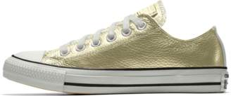 Nike Converse Custom Chuck Taylor All Star Metallic Leather Low Top Shoe