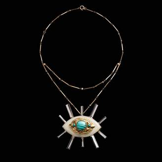 Lulu Frost Fine Vintage Pendant Necklace - Radiant Eye