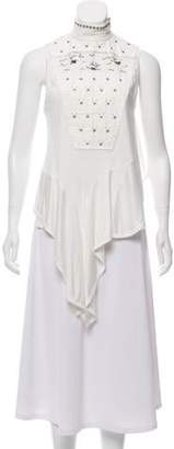 Chloé Embellished Sleeveless Top w/ Tags