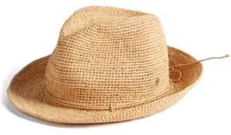 Helen Kaminski Raffia Crochet Packable Sun Hat