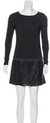 Theory Jersey Mini Dress