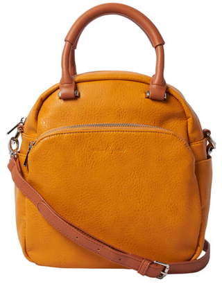Urban Originals Flower Field Vegan Leather Bowling Bag