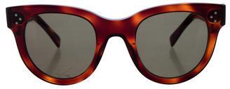 CelineCéline Tinted Round Sunglasses