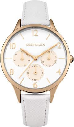 Karen Millen Multi-Dial Leather Watch