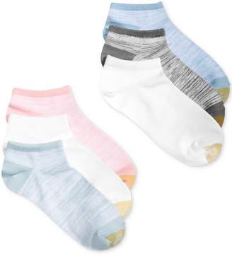 Gold Toe Women's 6-Pk. Free Feed Soft Liner Socks