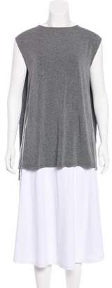 Kit and Ace Brushed Cape Sleeveless Top