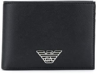 Emporio Armani classic logo wallet