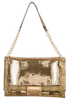Balmain Sequin City Sac Bag