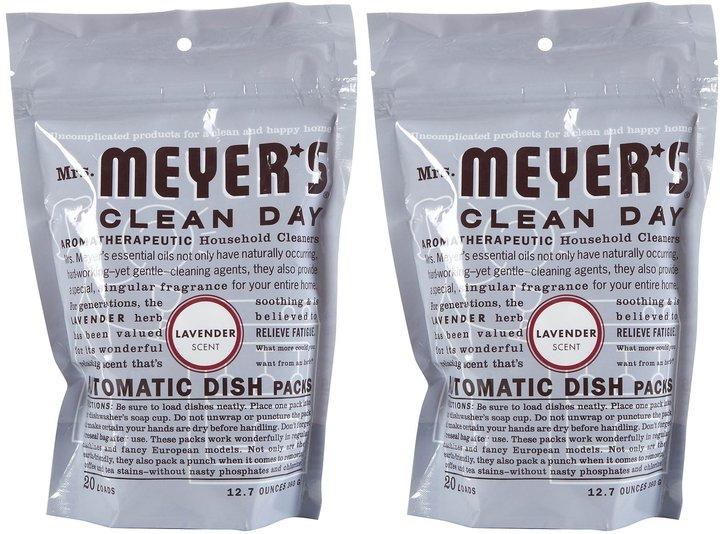Mrs. Meyer's Clean Day Automatic Dishwashing Packs - 12.7 oz - Lavender - 2 pk