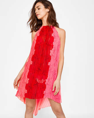 Ted Baker MACAUFA Happiness pleated cover-up