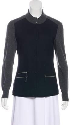 Arabella Rani Rib Knit Cashmere Cardigan