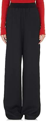 Maison Margiela Women's Wide-Leg Wool Tuxedo Pants