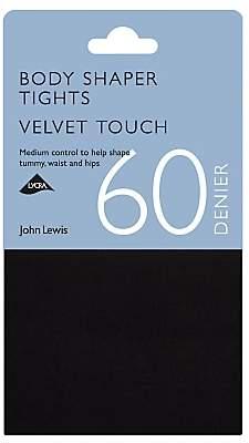 62522dbe5 John Lewis   Partners 60 Denier Velvet Touch Body Shaper Opaque Tights