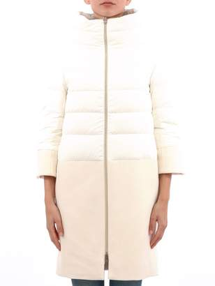 Herno White Puffer Jacket