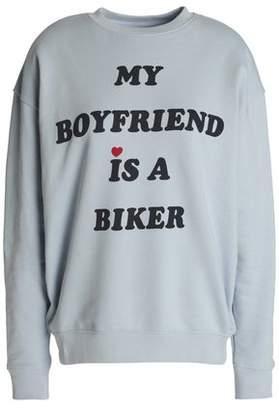 Zoe Karssen Printed Cotton Sweatshirt