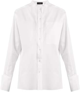 Joseph Odda double-layered cotton-poplin shirt