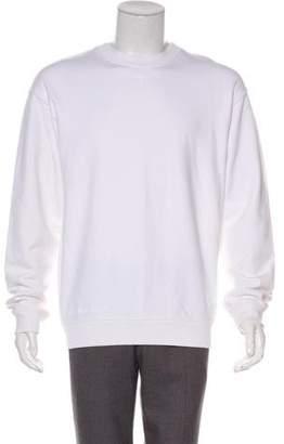 RtA Denim Pullover Scoop Neck Sweater