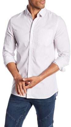Saturdays NYC Reed Stripe Print Shirt