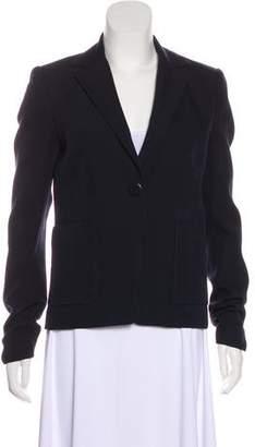 Balenciaga Wool Notch-Lapel Blazer