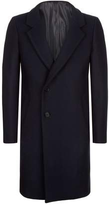 Wooyoungmi Stand Collar Overcoat