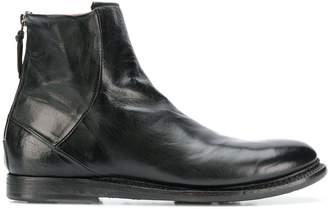 Silvano Sassetti (シルバノ サセッティ) - Silvano Sassetti flat ankle boots