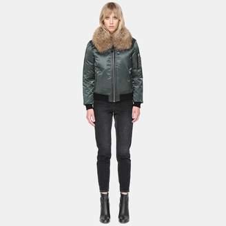 Mackage Rella Fur Collar Bomber Jacket