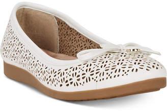 Giani Bernini Odeysa Memory Foam Perforated Ballet Flats, Women Shoes
