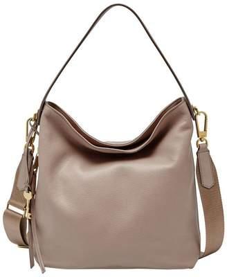 Fossil Maya Zip Top Hobo Bag
