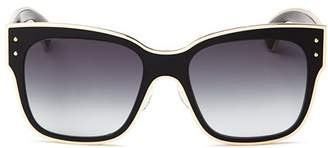 Moschino Women's 000 Gradient Square Sunglasses, 55mm