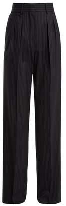 Max Mara Wide-leg pleated wool trousers