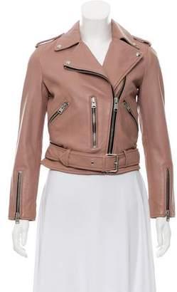 AllSaints Leather Moto Jacket w/ Tags