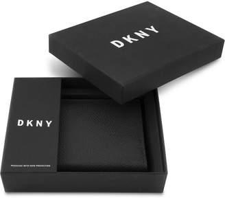 DKNY Men's Vertical Leather Wallet
