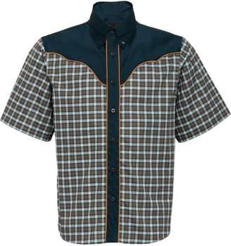 Prada button down western shirt