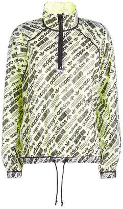 adidas by Alexander Wang Printed Parka with Mesh