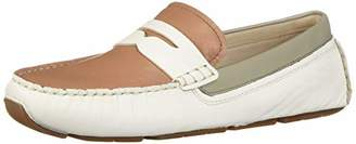 0b8b512d0b6 Cole Haan Women s Rodeo Penny Driver Loafer Flat Optic White Mocha Mousse  5.5 B US