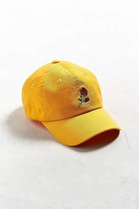 Urban Outfitters Denim Rose Baseball Hat
