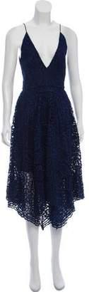 Nicholas Structured Lace Dress