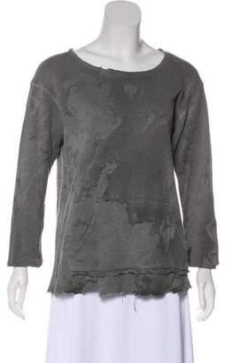 Greg Lauren Distressed Sweatshirt