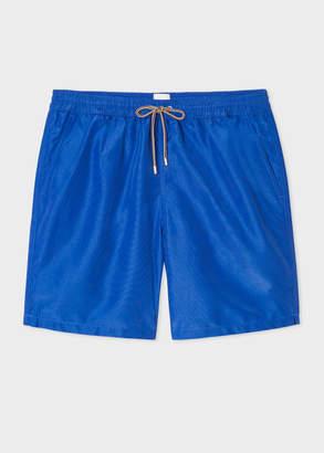 Paul Smith Men's Cobalt Blue Long Swim Shorts